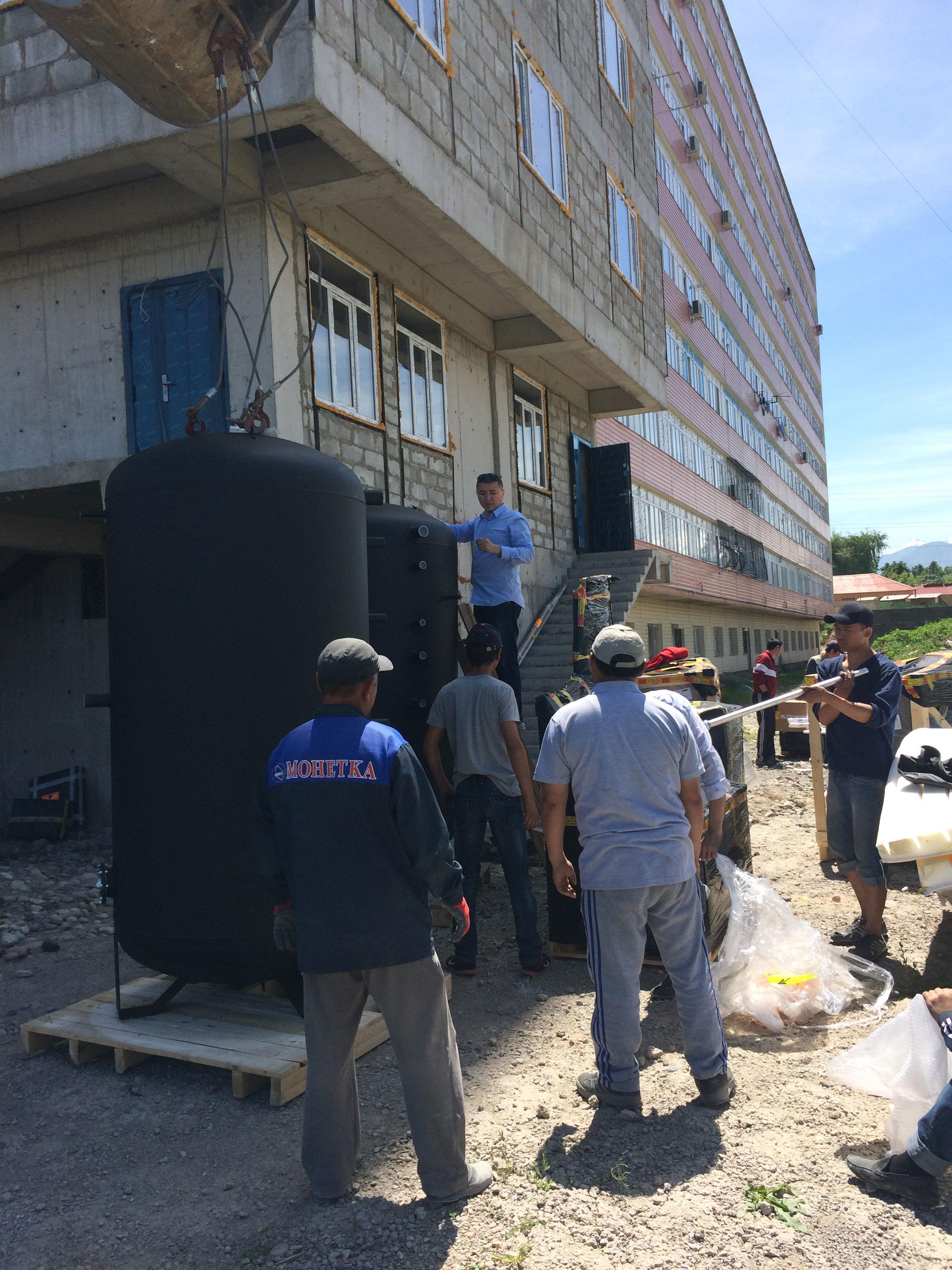 Многоквартирный дом в мкрн. «Солнечный», город Бишкек